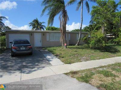 Pompano Beach Single Family Home Backup Contract-Call LA: 1411 NE 41st Ct