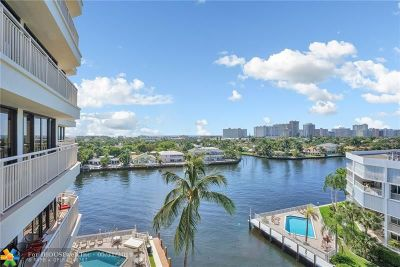 Fort Lauderdale Condo/Townhouse For Sale: 3100 NE 48th St #718