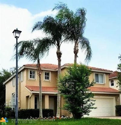 Coral Springs Single Family Home For Sale: 12371 NW 56th Ct