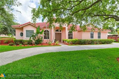 Plantation Single Family Home For Sale: 6100 SW 20th St