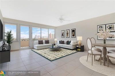 Fort Lauderdale Condo/Townhouse For Sale: 3233 NE 34th St #1207