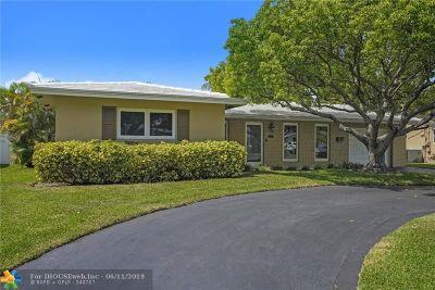Pompano Beach Single Family Home For Sale: 160 SE 6th Ct