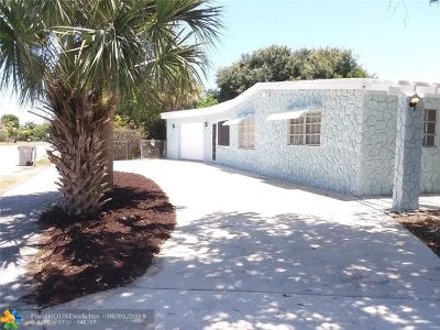 Pompano Beach Single Family Home For Sale: 1609 NE 48th Ct