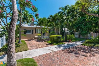 Fort Lauderdale Single Family Home For Sale: 1409 NE 5th Ct