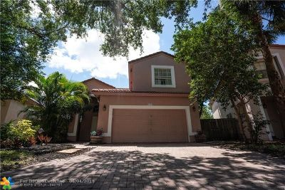Coral Springs Single Family Home Backup Contract-Call LA: 6226 NW 38th Dr