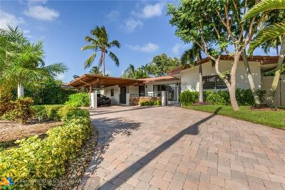 Fort Lauderdale Single Family Home For Sale: 1824 Harbour Inlet Dr