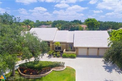Coral Springs Single Family Home For Sale: 1915 Merion Ln