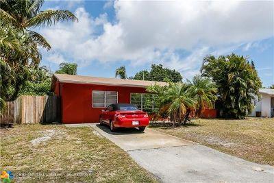 Pompano Beach Single Family Home For Sale: 1611 NE 31st Ct