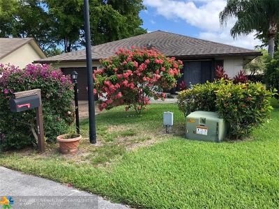 Deerfield Beach Single Family Home For Sale: 2168 SW 17th Drive