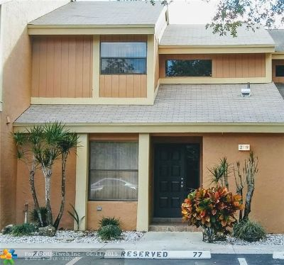 Coconut Creek Condo/Townhouse Backup Contract-Call LA: 2119 NW 45th Ave #2119