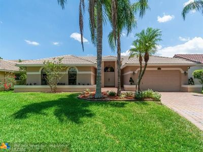 Coral Springs Single Family Home For Sale: 12250 NW 2nd St