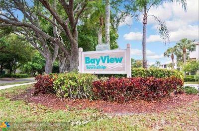 Coconut Creek Condo/Townhouse For Sale: 4151 Coral Tree Cir #153