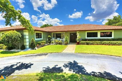 Coral Springs Single Family Home For Sale: 10300 NW 16th Ct