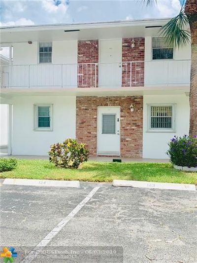 Pompano Beach Condo/Townhouse Backup Contract-Call LA: 2475 W Golf Blvd #143