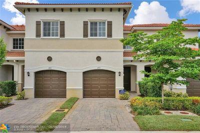 Pompano Beach Condo/Townhouse For Sale: 373 NE 47th Pl