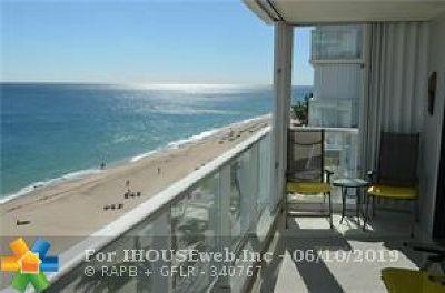 Pompano Beach Condo/Townhouse For Sale: 1000 S Ocean Blvd #10p