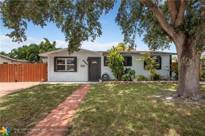 Hollywood Single Family Home For Sale: 6565 Eaton St