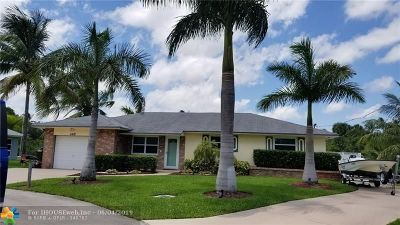 Dania Beach Single Family Home Backup Contract-Call LA: 4402 SW 24 Av