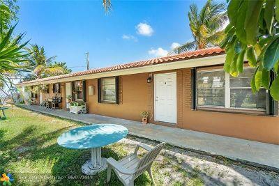Pompano Beach Multi Family Home For Sale: 101 SW 14th Ct