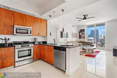 Fort Lauderdale Condo/Townhouse For Sale: 315 NE 3rd Avenue #1505
