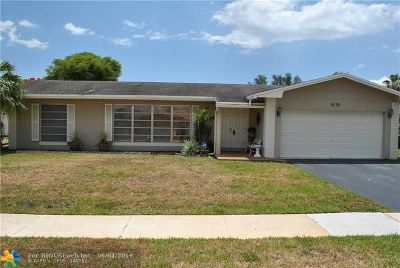 Tamarac Single Family Home For Sale: 8132 NW 67th Ave