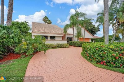 Coral Springs Single Family Home For Sale: 10877 NW 6th St