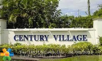 West Palm Beach Condo/Townhouse For Sale: 124 Windsor F #124