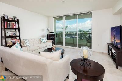 Fort Lauderdale Condo/Townhouse For Sale: 610 W Las Olas #1913-Nor