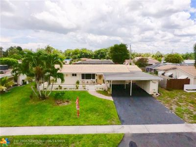 Coconut Creek Single Family Home For Sale: 4260 NW 10th St