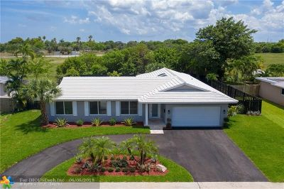 Plantation Single Family Home For Sale: 6080 SW 9th St