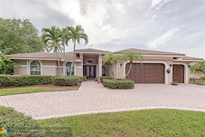 Coral Springs Single Family Home Backup Contract-Call LA: 1716 NW 126th Dr