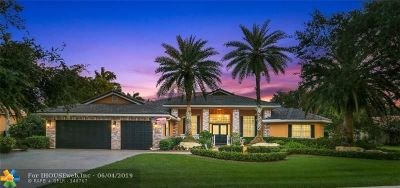 Davie Single Family Home For Sale: 10800 SW 38th Dr
