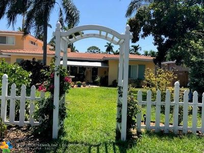 Fort Lauderdale Single Family Home For Sale: 1900 NE 17th Te