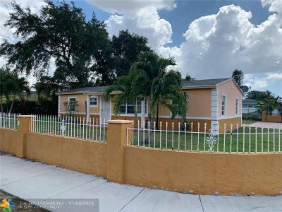 Opa-Locka Single Family Home For Sale: 16001 NW 28th Pl