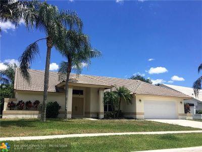 Broward County, Palm Beach County Single Family Home For Sale: 6634 Blue Bay Cir
