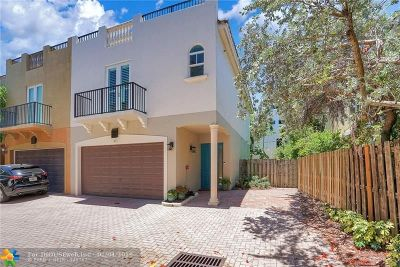 Fort Lauderdale Condo/Townhouse For Sale: 621 NE 11th Ave #621