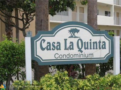 Pompano Beach Condo/Townhouse For Sale: 2870 NE 14th Street Cswy #306C