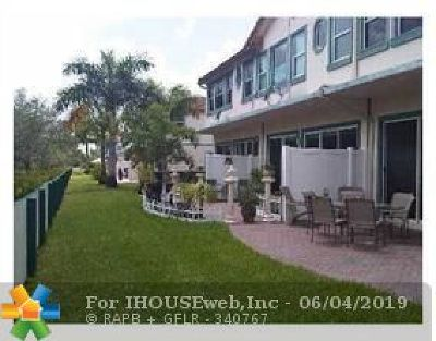 Coral Springs Condo/Townhouse For Sale: 12302 Royal Palm Blvd #1