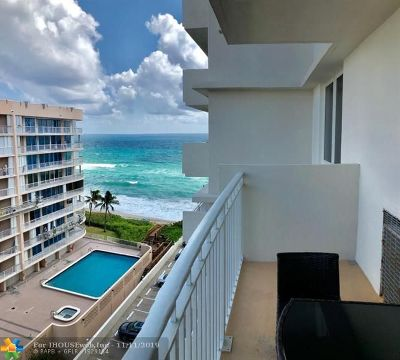 Highland Beach Condo/Townhouse For Sale: 3215 S Ocean Blvd #804