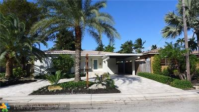 Fort Lauderdale Single Family Home For Sale: 533 Riviera Isle Drive