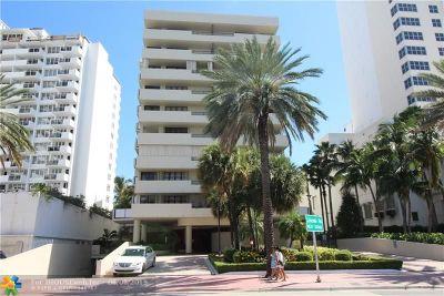 Miami Beach Condo/Townhouse For Sale: 1621 Collins Ave #PH1003