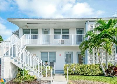 Fort Lauderdale Condo/Townhouse For Sale: 2100 NE 51st Ct #201