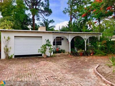 Fort Lauderdale Single Family Home For Sale: 1705 SW 12th Ct