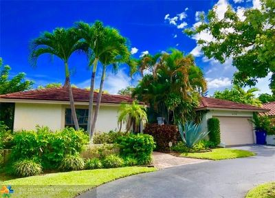 Coral Springs Single Family Home For Sale: 9773 NW 4th St