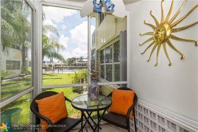 Pompano Beach Condo/Townhouse For Sale: 615 S Riverside Dr #2