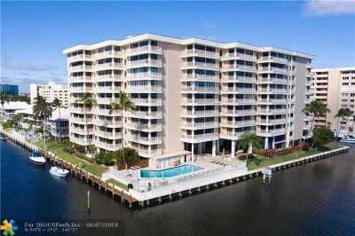 Fort Lauderdale Condo/Townhouse For Sale: 3100 NE 48th St #306