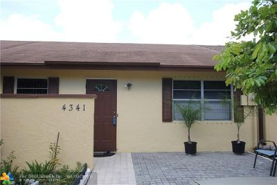 Pompano Beach Condo/Townhouse For Sale: 4341 NW 6th Ave