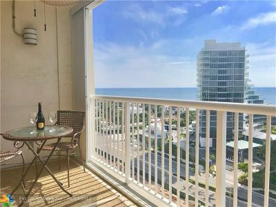 Fort Lauderdale Condo/Townhouse For Sale: 2200 NE 33rd Ave #15F