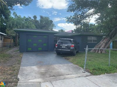 Fort Lauderdale Single Family Home For Sale: 2936 NW 10th Ct