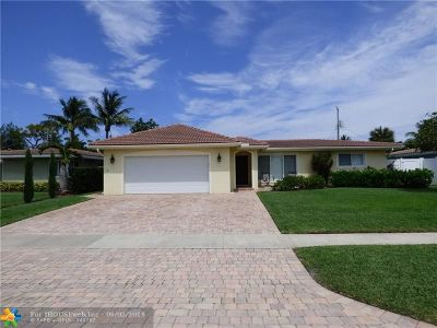 Pompano Beach Single Family Home For Sale: 1350 SE 4th Ave